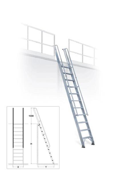 Bianchin scale al2s scala per soppalchi - Scale per soppalchi ...